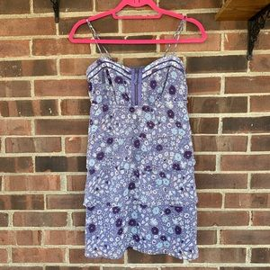 American Eagle Outfitters floral tank tunic top